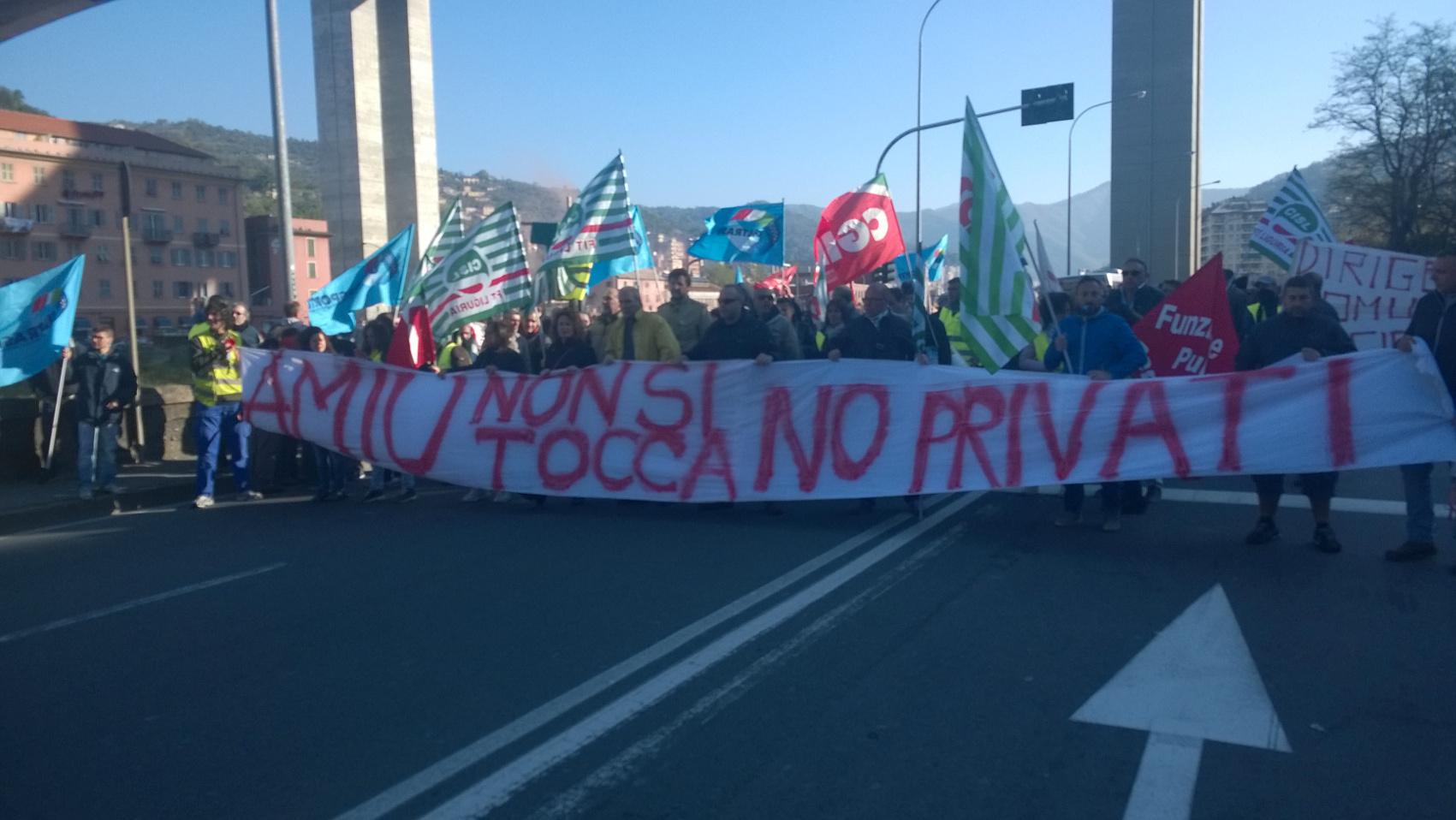 GENOVA Assemblea AMIU a Doria: 'Trattiamo se fermi delibera vendita'