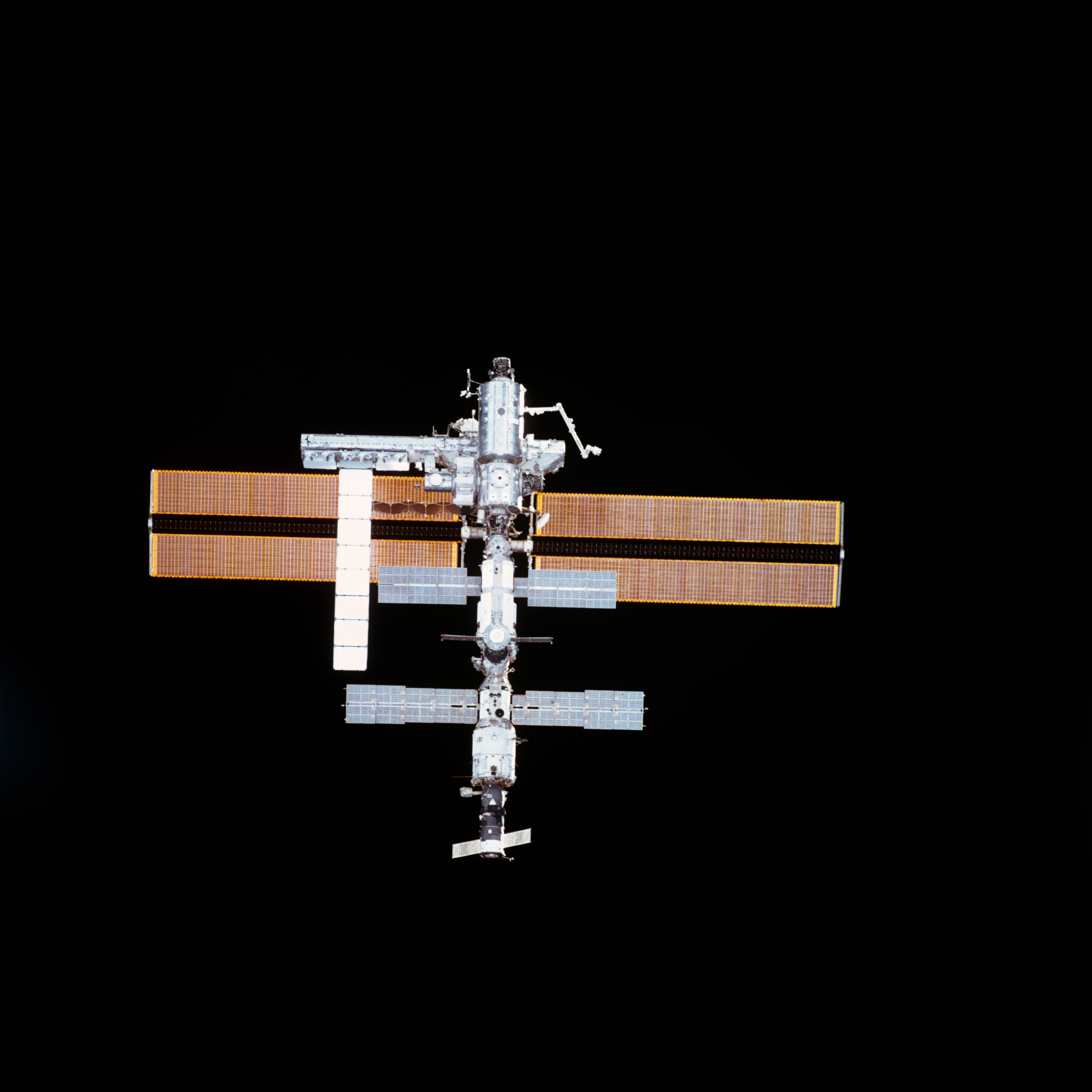 Zenith views of the ISS taken ...