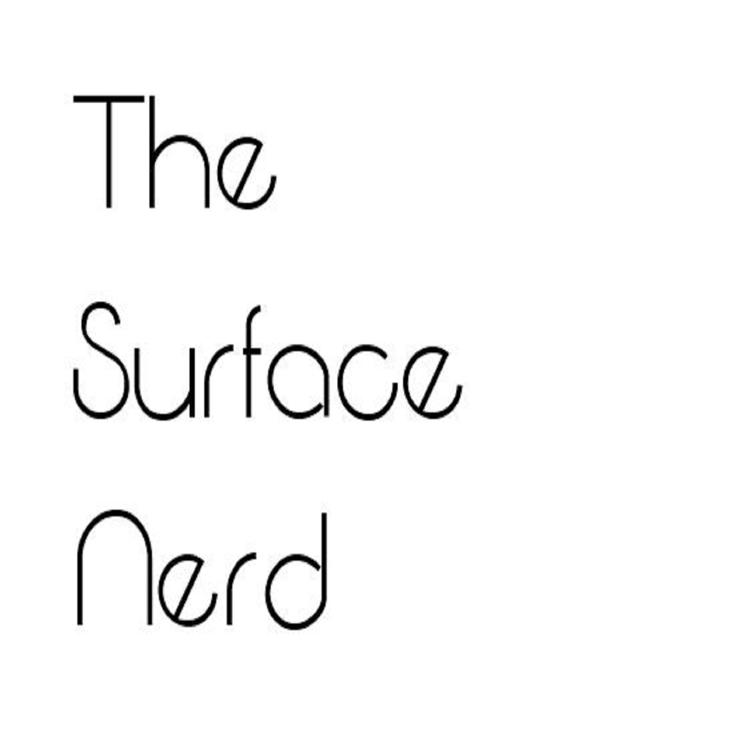 Podcast – The Surface Nerd