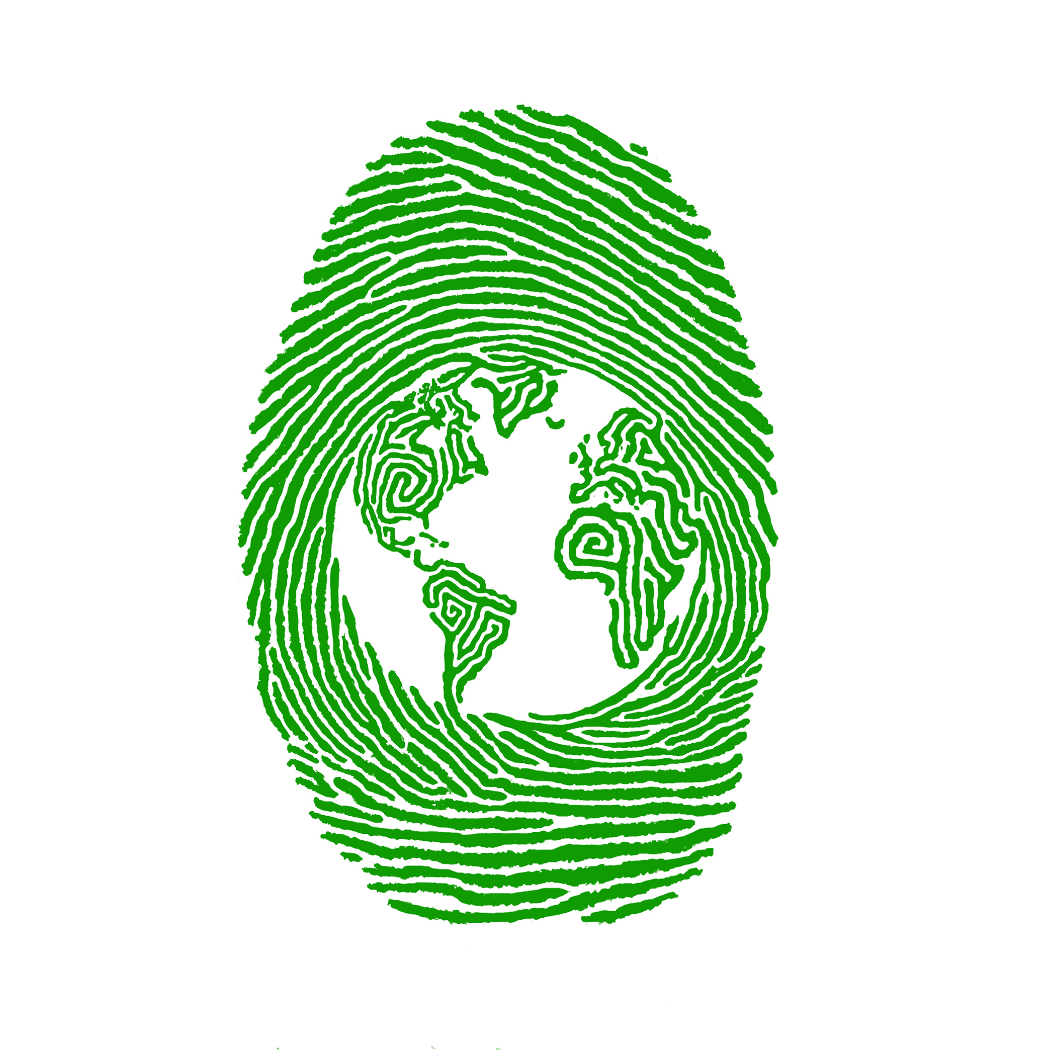 Green Thumbprint