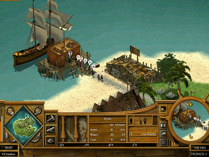 Tropico 2: Pirate Cove Demo : Frog City Software : Free