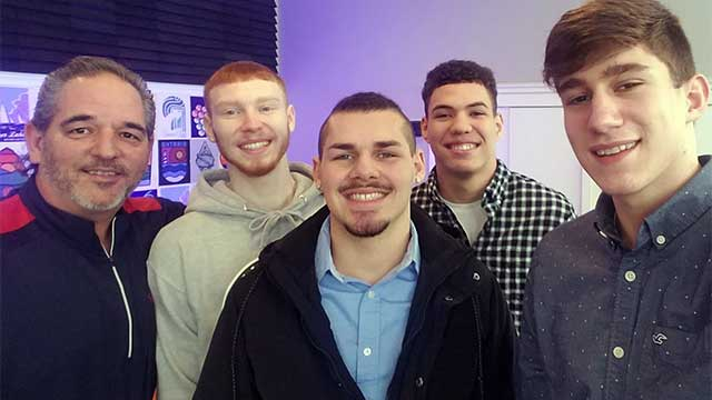 UPSTATE HOOPS: Newark Reds seniors in-studio (podcast)