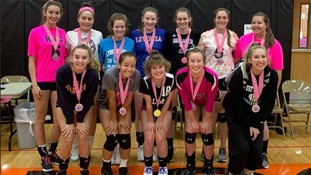 Volley for a Cure at Waterloo HS raises  funds for Thrive to Survive