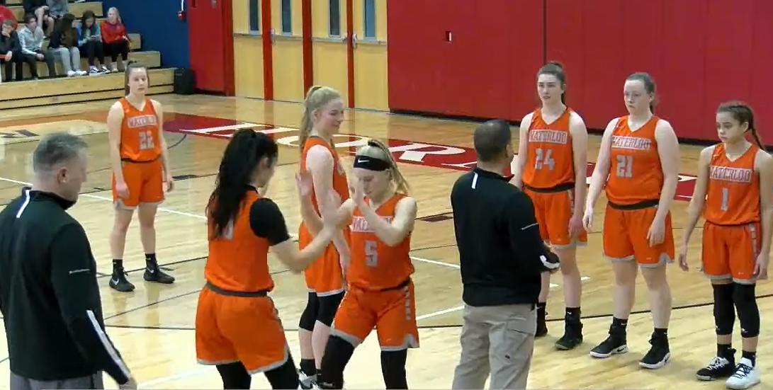 WEBCAST REPLAY: Waterloo girls take on Red Raiders in Hornell (Peisch Sports)