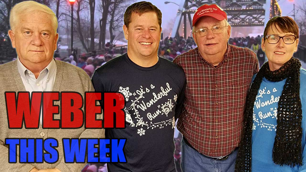 Weber This Week: Jeff Rook on Saturday's It's A Wonderful Run 5K in Seneca Falls