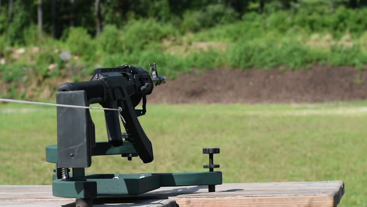 3D Printed AK-47 Rifle (Shooting footage)