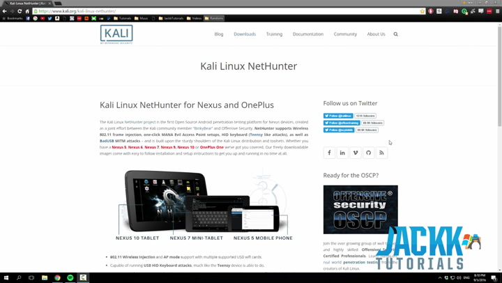 How to install Kali Nethunter (One Plus 2)