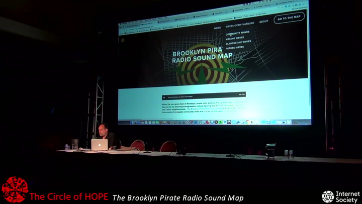 The Circle of HOPE (2018): Tracing Invisible Neighborhoods: The Brooklyn  Pirate Radio Sound Map