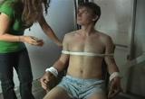 boy tied up