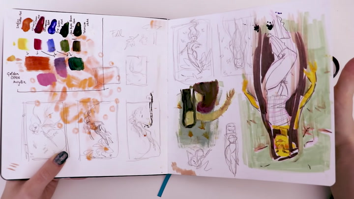 The Unseen Sketches Sketchbook Tour 21
