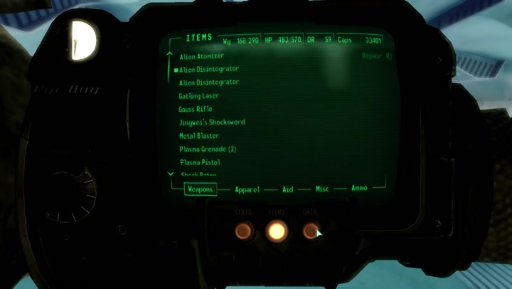 Mothership Zeta Part 2: Defrosting the Crew - Fallout 3 Lore ... on