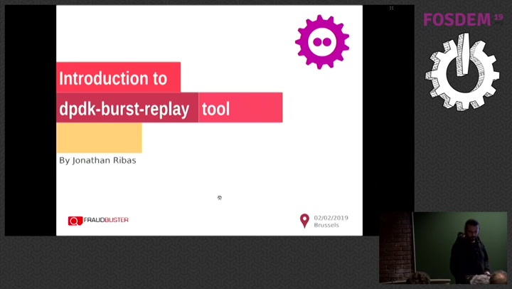Introduction to dpdk-burst-replay A tiny tool for easily inject pcap files  on DPDK NICs