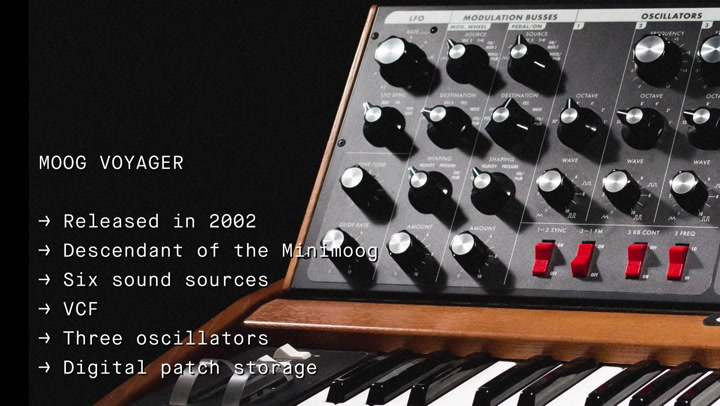 First Patch - Moog Voyager | Red Bull Music Academy
