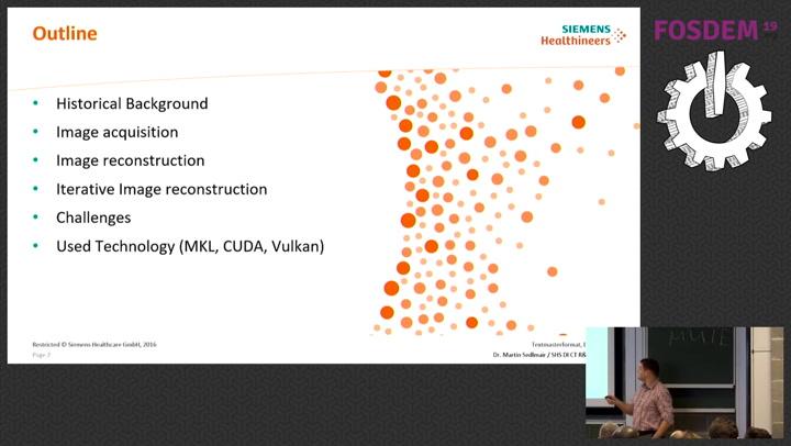 Medical image reconstruction using the  NET Framework
