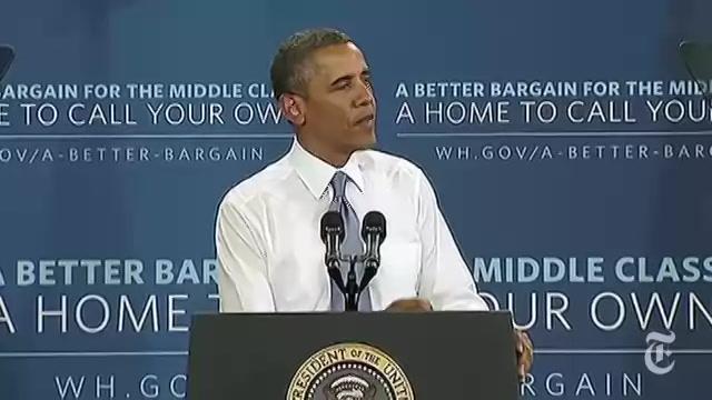 Obama Speech 2013: President's Ideas to Help Homeowners