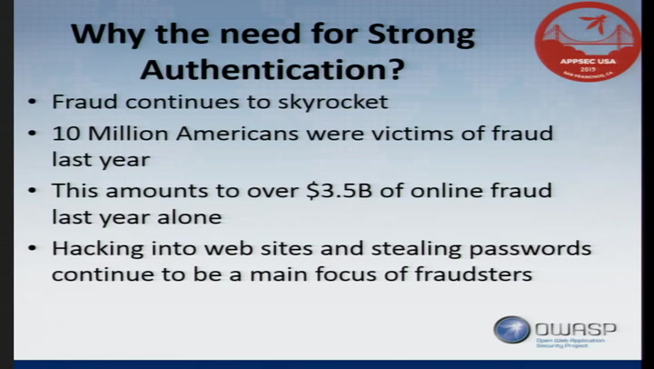 Secure Authentication without the Need for Passwords - Don ...