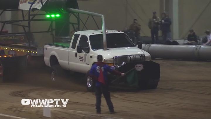 Pulling truck fails