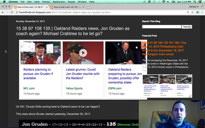 21b3349c68854d Why Jon Gruden back to the Raiders story began Dec. 30
