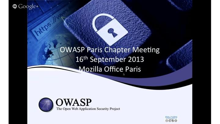 OWASP Paris, September, 2013, Firefox OS Security ft  Paul Theriault