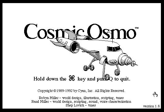 cosmic osmo