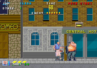 Internet Arcade: E-Swat - Cyber Police : Free Download, Borrow, and