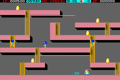 Internet Arcade: Lode Runner : Irem (licensed from Broderbund