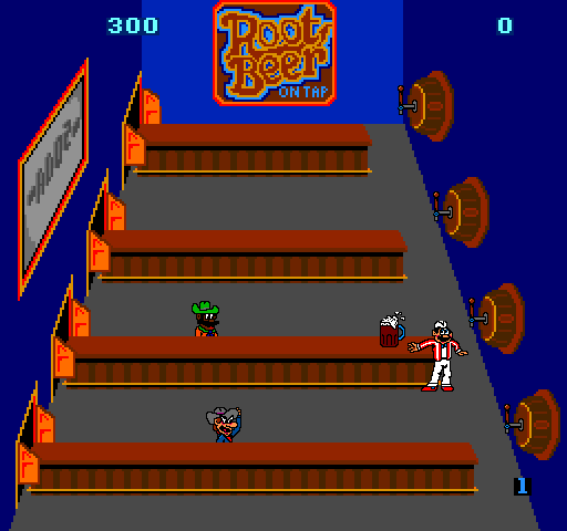 Internet Arcade: Root Beer Tapper : Bally Midway : Free