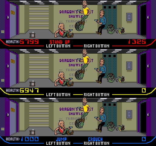 Internet Arcade: Xenophobe : Bally Midway : Free Borrow