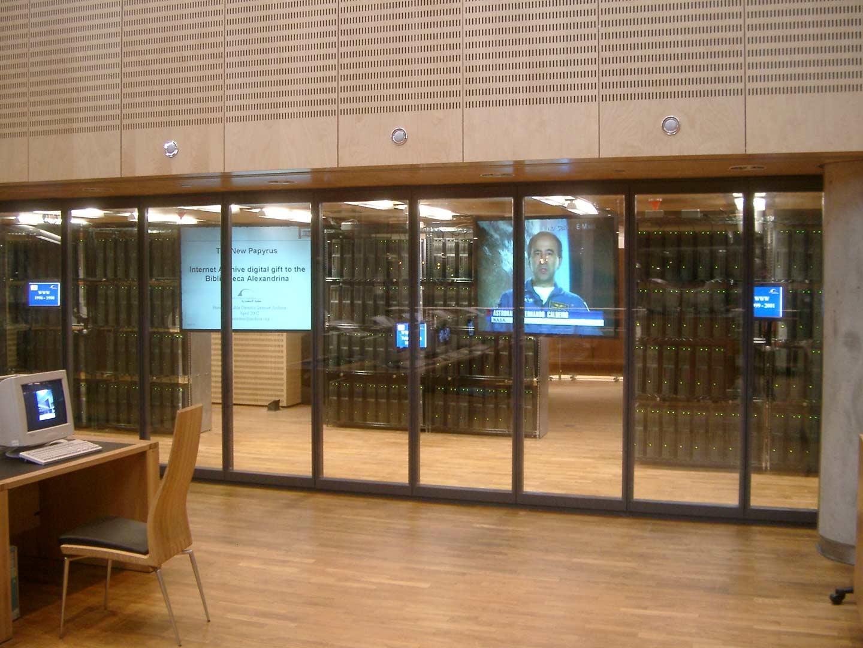 Internet Archive: Bibliotheca Alexandrina