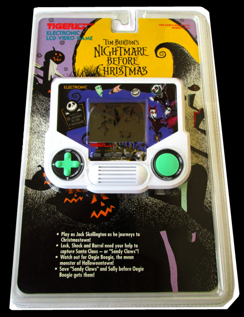 Nightmare Before Christmas Handheld Tiger Electronics Free Borrow Streaming Internet Archive