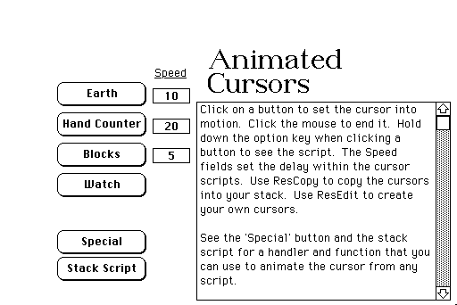 downloadable animated cursors