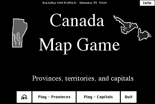 Canada Map Game Ron Lemay Free Download Borrow And Streaming