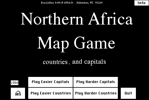 Northern Africa Map Game.Sit : RonLeMay : Free Download ...