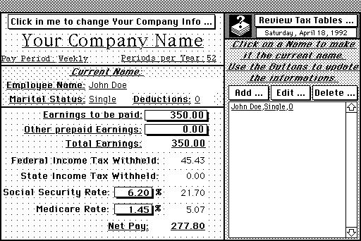 payroll calculator 1 0 jean louis dehoux free download borrow