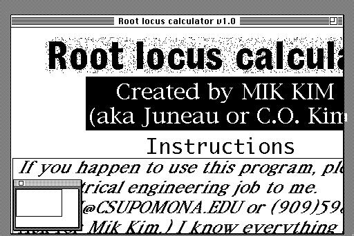 Root locus examples.