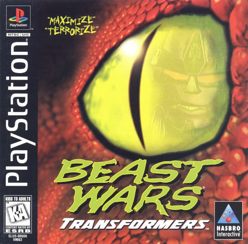 Beast Wars - Transformers (USA) : Hasbro Interactive : Free