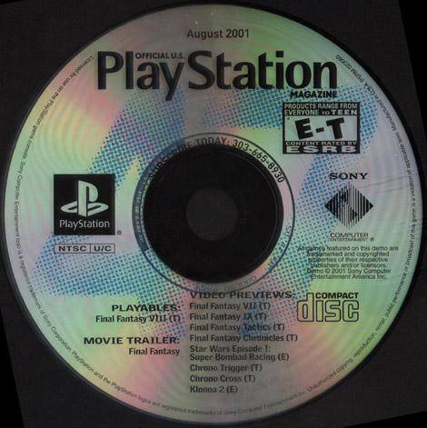 Official U S  PlayStation Magazine Demo Disc 47 (USA) : Sony