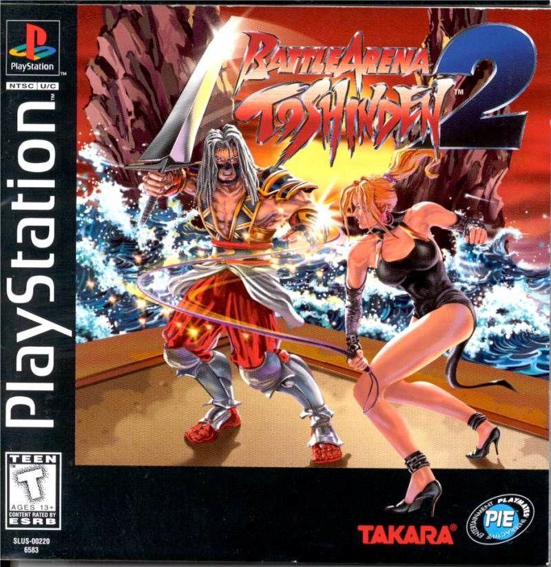 Battle Arena Toshinden 2 Usa Playmates Interactive