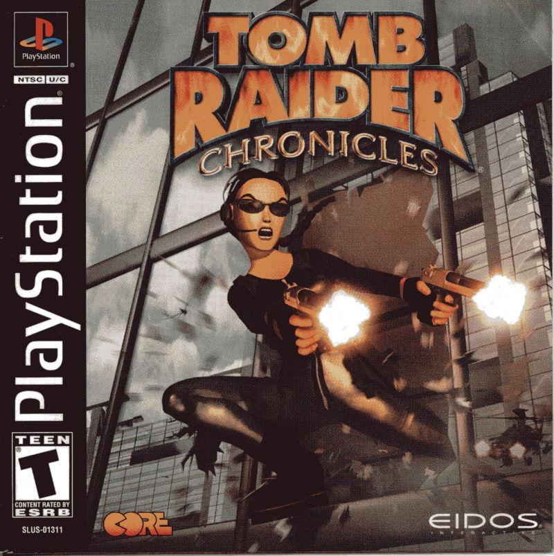 Tomb Raider Chronicles Usa Eidos Interactive Free Borrow