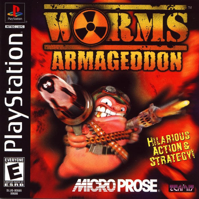 Worms Armageddon (USA) : MicroProse Software : Free Borrow