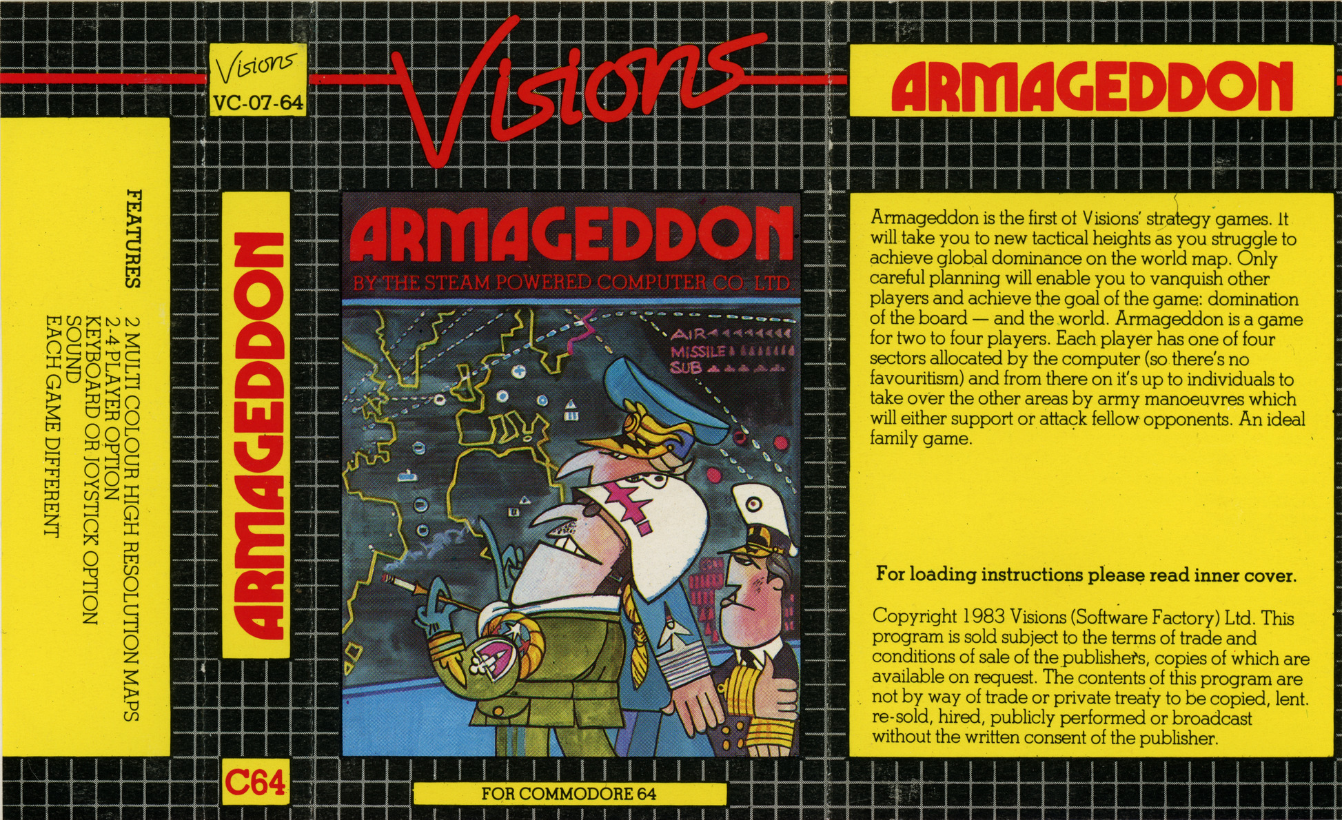 Armageddon (1984 Visions Software Factory) [3062] : Free
