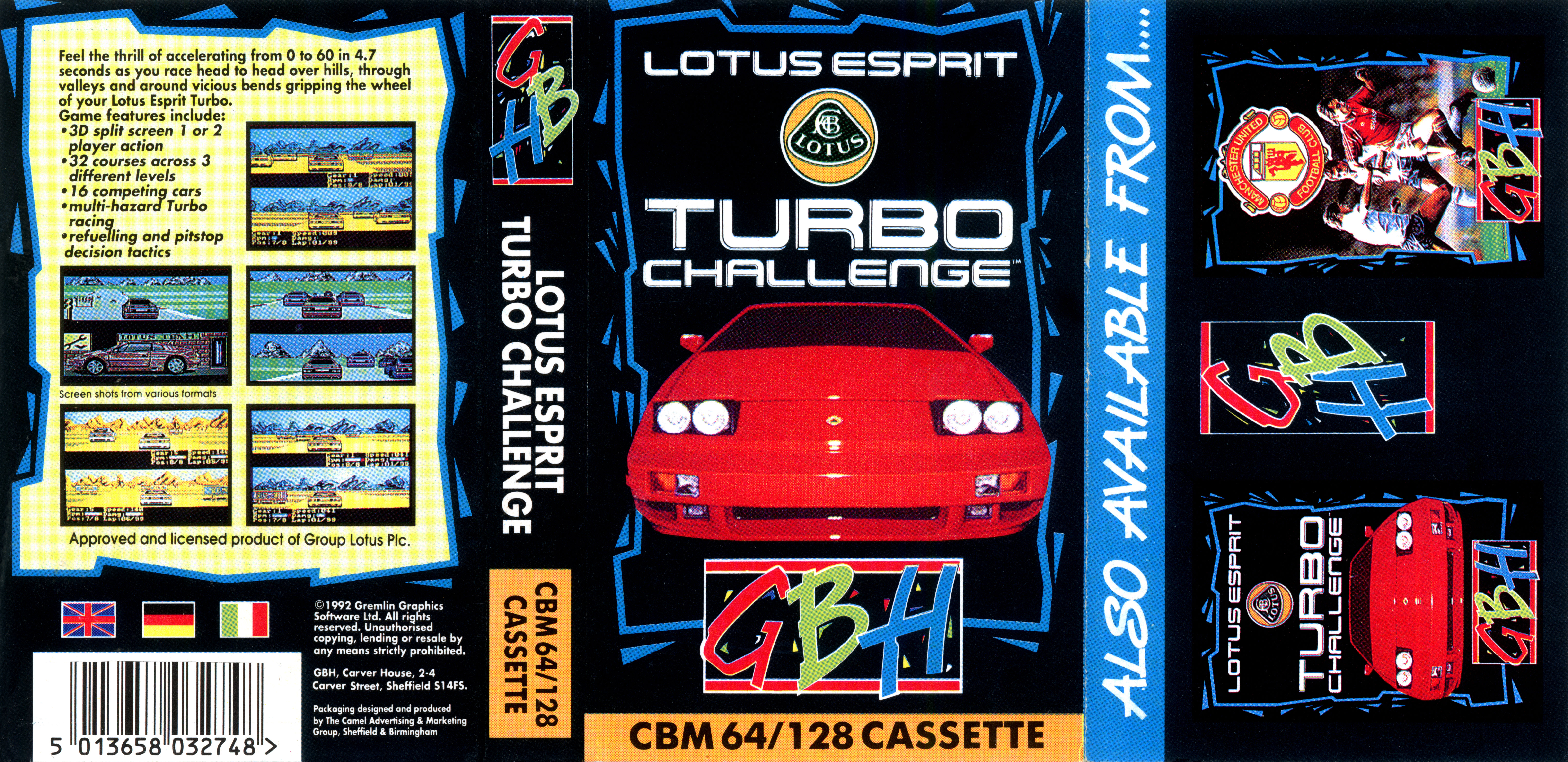 coupon code special section more photos Lotus Esprit Turbo Challenge (19xx Gremlin Graphics (GBH ...