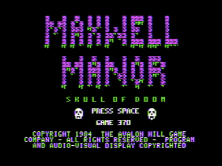 Image result for maxwell manor game