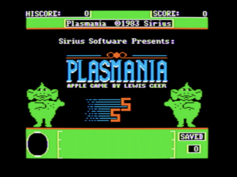 Plasmania (woz-a-day collection) : Lewis Geer (Sirius