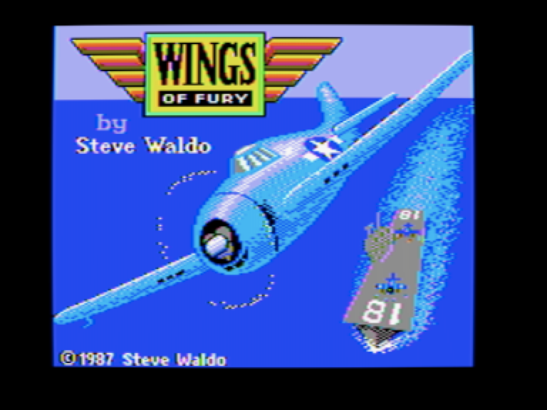 Wings Of Fury Woz A Day Collection Steve Waldo Brderbund