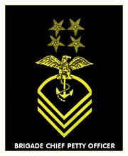 United States Naval Academy Cadet Petty Officer Rank Marks