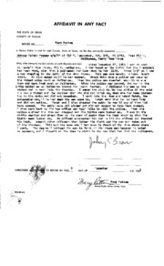 JFK Assassination DPD File 121