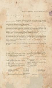 Pétition à Sa Majesté le roi de Suède et de Norvège en faveur de Monsieur le docteur Morton, auteur de la découverte de l-ethérisation