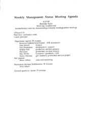 Weekly management status meeting agenda free download amp weekly management status meeting agenda thecheapjerseys Gallery
