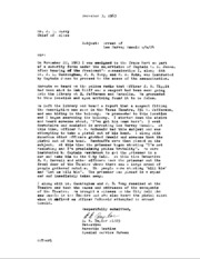 JFK Assassination DPD File 729